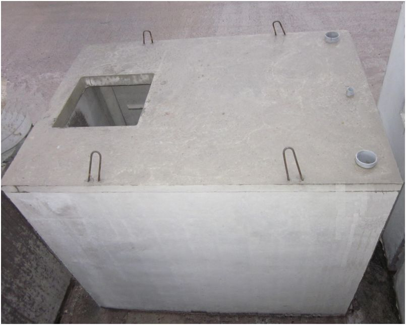 les cuves en b ton pour l eau de pluie aquafree. Black Bedroom Furniture Sets. Home Design Ideas